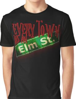 Every Town Elm Street Graphic T-Shirt