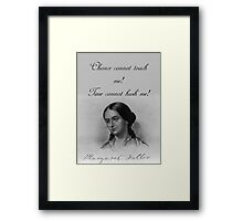 Chance Cannot Touch Me - Fuller Framed Print
