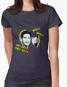 Jon Bernthal & Bull Terrier  Womens Fitted T-Shirt