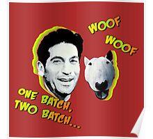 Jon Bernthal & Bull Terrier  Poster