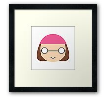 Meg Griffin - Circley! Framed Print