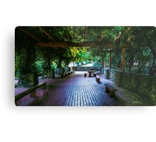 The Sheltered Repose Metal Print