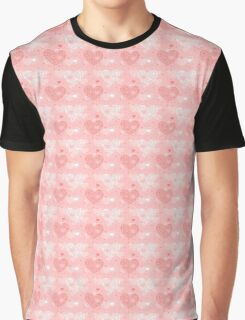 Love Hearts and dots Graphic T-Shirt