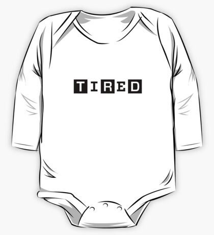 Tired, famous magazine parody One Piece - Long Sleeve