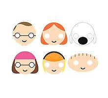 Family Guy - Circley! Photographic Print