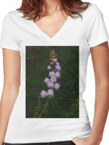 Wild flowers, Geraldton, WA Women's Fitted V-Neck T-Shirt