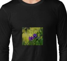 Blue and purple simplicity Long Sleeve T-Shirt