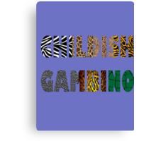 Animal Gambino Canvas Print