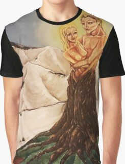 Entwined Lovers Graphic T-Shirt
