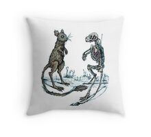 Greater Egyptian Jerboa Throw Pillow