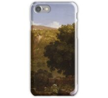 Thomas Cole - Il Penseroso iPhone Case/Skin