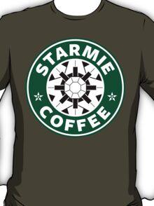 Starmie Coffee - Pokemon Starbucks (white) T-Shirt