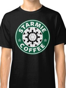 Starmie Coffee - Pokemon Starbucks (white) Classic T-Shirt