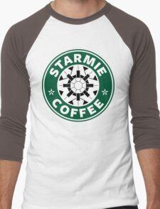 Starmie Coffee - Pokemon Starbucks (white) Men's Baseball ¾ T-Shirt