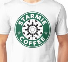 Starmie Coffee - Pokemon Starbucks (white) Unisex T-Shirt
