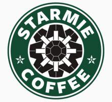Starmie Coffee - Pokemon Starbucks (black) One Piece - Short Sleeve
