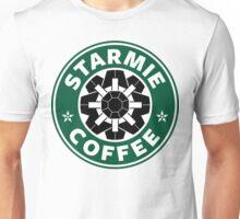 Starmie Coffee - Pokemon Starbucks (black) Unisex T-Shirt