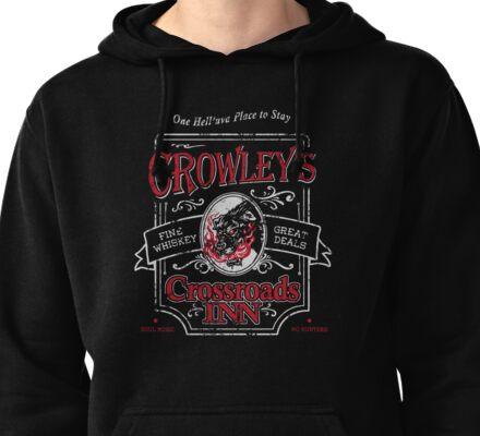 Crowley's Crossroads Inn Pullover Hoodie