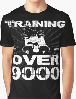 Dragon Ball Z - Get Over 9000 Graphic T-Shirt