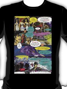 """""""Code Name: King #2"""" Comic Book Page Art - 'No Horse Fartin' in The Caddy' T-Shirt"""