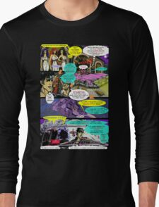 """""""Code Name: King #2"""" Comic Book Page Art - 'No Horse Fartin' in The Caddy' Long Sleeve T-Shirt"""