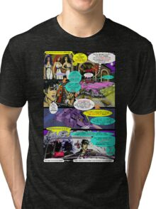 """Code Name: King #2"" Comic Book Page Art - 'No Horse Fartin' in The Caddy' Tri-blend T-Shirt"