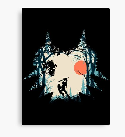 Forest Link Canvas Print