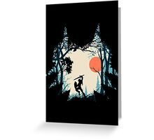 Forest Link Greeting Card