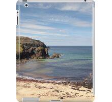 Isle of Lewis, Outer Hebrides, Scotland Dailbeag beach iPad Case/Skin