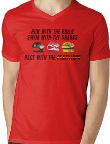F1 BRAZILIAN HEROES (1) Mens V-Neck T-Shirt