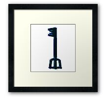 Kingdom Hearts Keyblade Framed Print