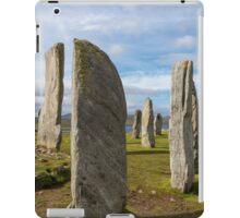 Callanish standing stones iPad Case/Skin