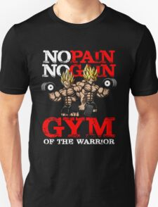 Dragon Ball Z - Gym Of The Warrior Unisex T-Shirt