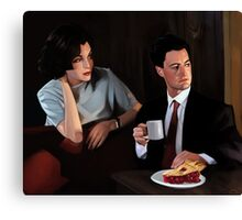 Twin Peaks: Cherry Pie With Me Canvas Print