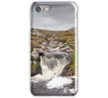 Isle of Lewis, Outer Hebrides, Scotland Stream over rocks near Breanais iPhone Case/Skin