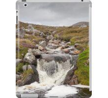 Isle of Lewis, Outer Hebrides, Scotland Stream over rocks near Breanais iPad Case/Skin