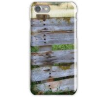 Fencing in the Meadow iPhone Case/Skin