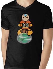 Avatar the legend of aang - air bending  Mens V-Neck T-Shirt