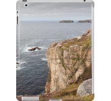 Cliffs near Breanais Isle of Lewis, Outer Hebrides, Scotland iPad Case/Skin