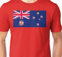 AUSSIE FLAG - ROOSTERS SUPPORTER Unisex T-Shirt