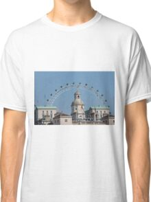 The London Eye and Horse Guards Parade Classic T-Shirt