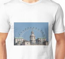 The London Eye and Horse Guards Parade Unisex T-Shirt