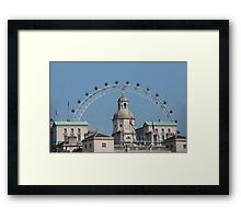 The London Eye and Horse Guards Parade Framed Print