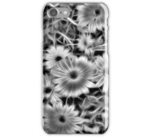Flower Black and White iPhone Case/Skin