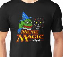Meme Magic Is Real Pepe The Frog Wizard Unisex T-Shirt