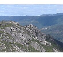 Mid Tasmanian Mountain Photographic Print