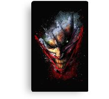 Joker print Canvas Print