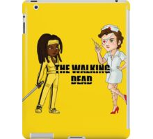 Kill the walking dead iPad Case/Skin