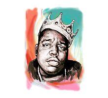 King Big Photographic Print