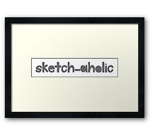 sketch-aholic Framed Print